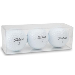 Custom Packaging - 4 Sleeves Of 3 Balls Each (Holds One Dozen Balls) - Half Price Golf Balls - Canada's Source For Premium Used & Recycled Golf Balls