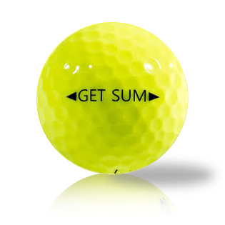 Snell Get Sum Yellow - Half Price Golf Balls - Canada's Source For Premium Used & Recycled Golf Balls