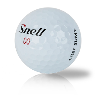 Custom Snell Get Sum - Half Price Golf Balls - Canada's Source For Premium Used & Recycled Golf Balls