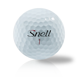 Custom Snell My Tour Ball Red - Half Price Golf Balls - Canada's Source For Premium Used & Recycled Golf Balls