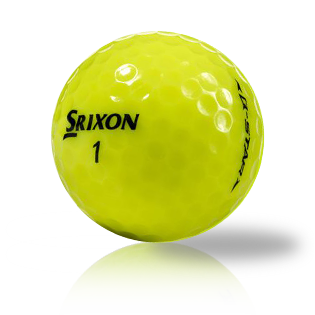 Srixon Q-Star Yellow Recycled & Used Golf Balls