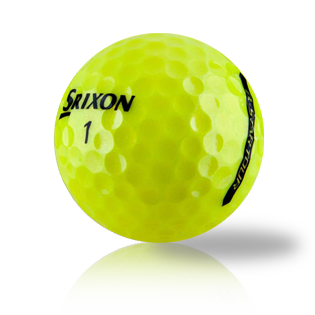 Custom Srixon Q-Star Tour 3 Yellow