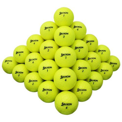 Srixon Yellow Mix - Half Price Golf Balls - Canada's Source For Premium Used & Recycled Golf Balls