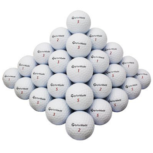 TaylorMade Mix Used & Recycled Golf Balls