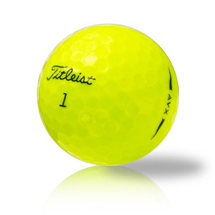 Titleist AVX Yellow - Half Price Golf Balls - Canada's Source For Premium Used & Recycled Golf Balls