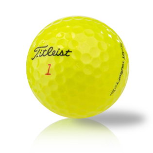 Custom Titleist DT TruSoft Yellow - Half Price Golf Balls - Canada's Source For Premium Used & Recycled Golf Balls