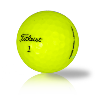 Custom Titleist NXT Tour S Yellow - Half Price Golf Balls - Canada's Source For Premium Used & Recycled Golf Balls