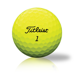 Custom Titleist Pro V1 2020 Yellow