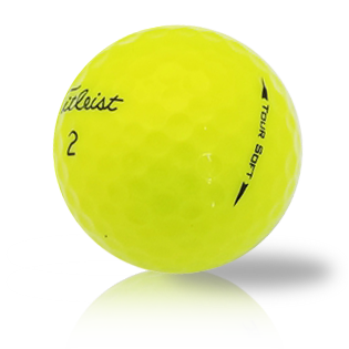 Custom Titleist Tour Soft Yellow - Half Price Golf Balls - Canada's Source For Premium Used & Recycled Golf Balls