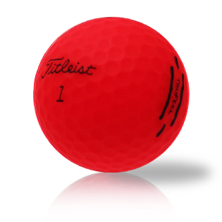 Custom Titleist TruFeel Red