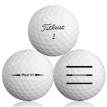 Titleist Pro V1 2018 Refinished (Triple-Line) Used Golf Balls - Foundgolfballs.com