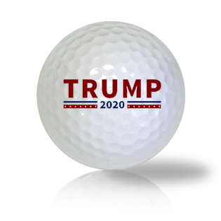 Donald Trump 2020 Golf Balls - Half Price Golf Balls - Canada's Source For Premium Used & Recycled Golf Balls