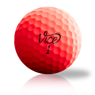 Vice Pro Red - Half Price Golf Balls - Canada's Source For Premium Used & Recycled Golf Balls