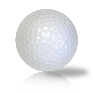 Custom New White Blank Ball - Half Price Golf Balls - Canada's Source For Premium Used & Recycled Golf Balls