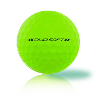 Wilson Duo Soft Optic Green - Half Price Golf Balls - Canada's Source For Premium Used & Recycled Golf Balls