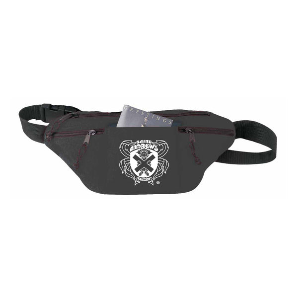 **NEW** Poly Four-Zipper Logo Fanny Pack