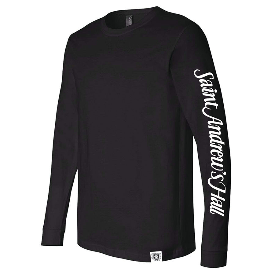 **NEW** Bella + Canvas Long Sleeve Black Shirt – Script