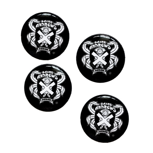 Saint Andrew's Hall Button (4-Pack)