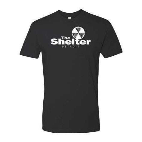Detroit Shelter Logo Tee - Black