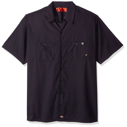 Dickies Industrial Short Sleeve Work Shirt with Classic Logo