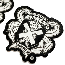 Saint Andrew's Hall Stickers (2-Pack)