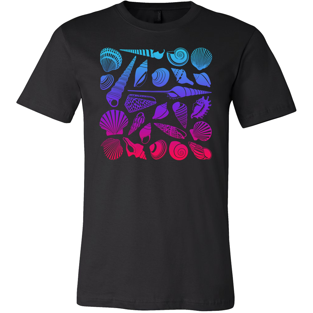 Shells, Beach, Sea and Sun Holiday Summer T Shirt