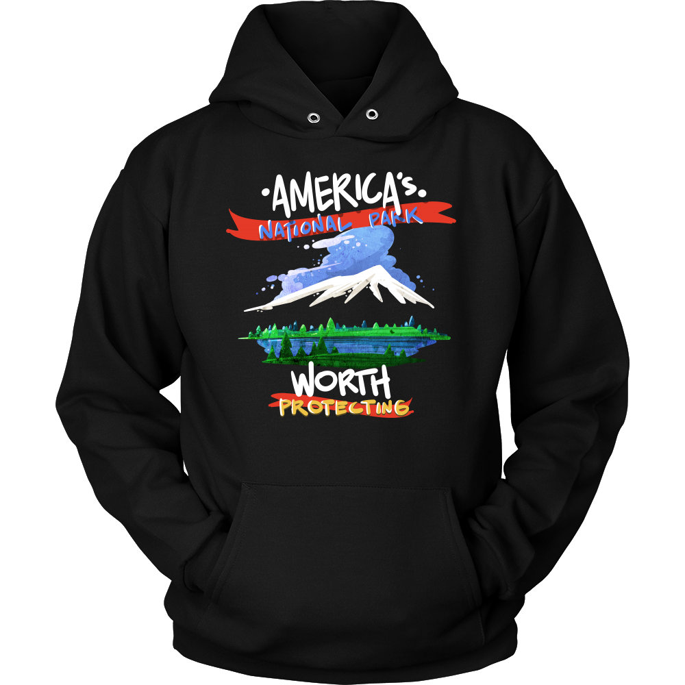 America's National Parks Worth Protecting Hikers Hoodie