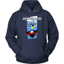 Antiguan Roots Antigua, Barbuda Pride Tree of Life Hoodie