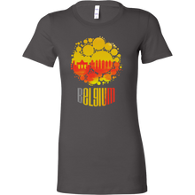 Belgium Skyline Horizon Sunset Love Country Bella Shirt