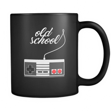 Video Game Mug - Old School Video Game Quote on Ceramic black 11oz mug