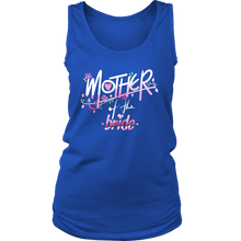 Funny Stamped Mother of the Bride Engagement Wedding Women's Tank Top T-Shirt