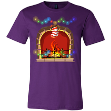Fireplace Christmas Costume T Shirt Xmas Gift