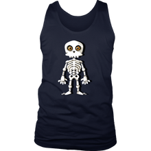 Halloween Night Happy Halloween Skeleton Costume Men's Tank
