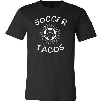 Soccer and Tacos Love Athletes Sport T Shirt