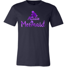 Auntie Mermaid Awesome Family Love My Auntie T Shirt