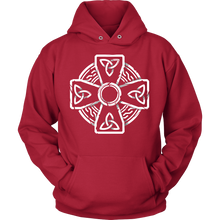 Irish Celtic Cross Shirt Trinity Knot Hoodie
