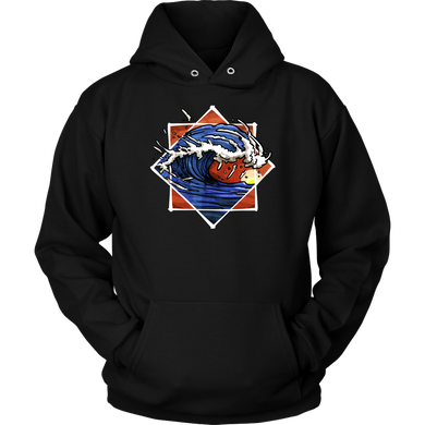 I'll Ride The Waves Beach Surfing Sports Fanatics Apparel