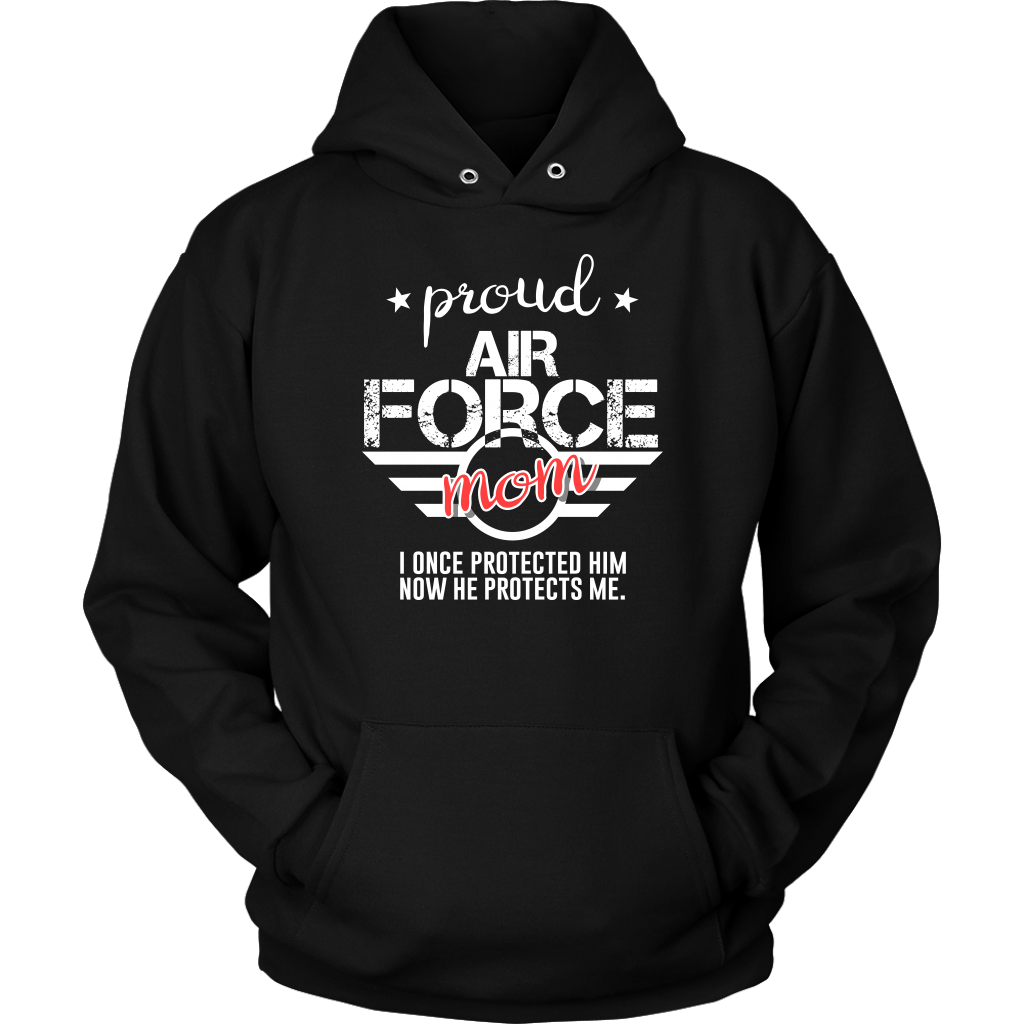 Military, Women's Proud Mom of Her Military Son U.S.A Hoodie V3.0