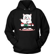 Cat Sushi Love Cats Pet Food Lover Hoodie
