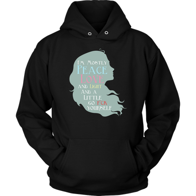 Peace Love and Light Inspirational Premium Hoodie