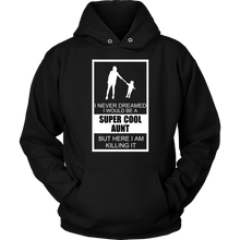 Super Cool Aunt Aunty Aunties, Family Hoodie