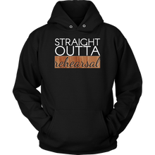 Straight Outta Rehearsal Theatre, Actor Acting Hoodie