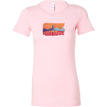Freetown Skyline Horizon Sunset Love Sierra LeoneBella Shirt