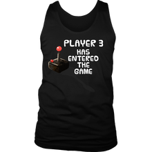 Nerdy Baby Player 3 Has Entered the Game Gamers Men's Tank