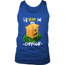 Beekeeper Bee Save The Bees Funny Bee In My Office Men's Tank
