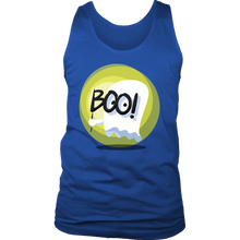 Halloween Costume BOO Ghost Funny Scary Men's Tank