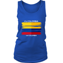 Colombia Shirt Colombian Flag Travel Vacation Souvenir Women's Tank Top