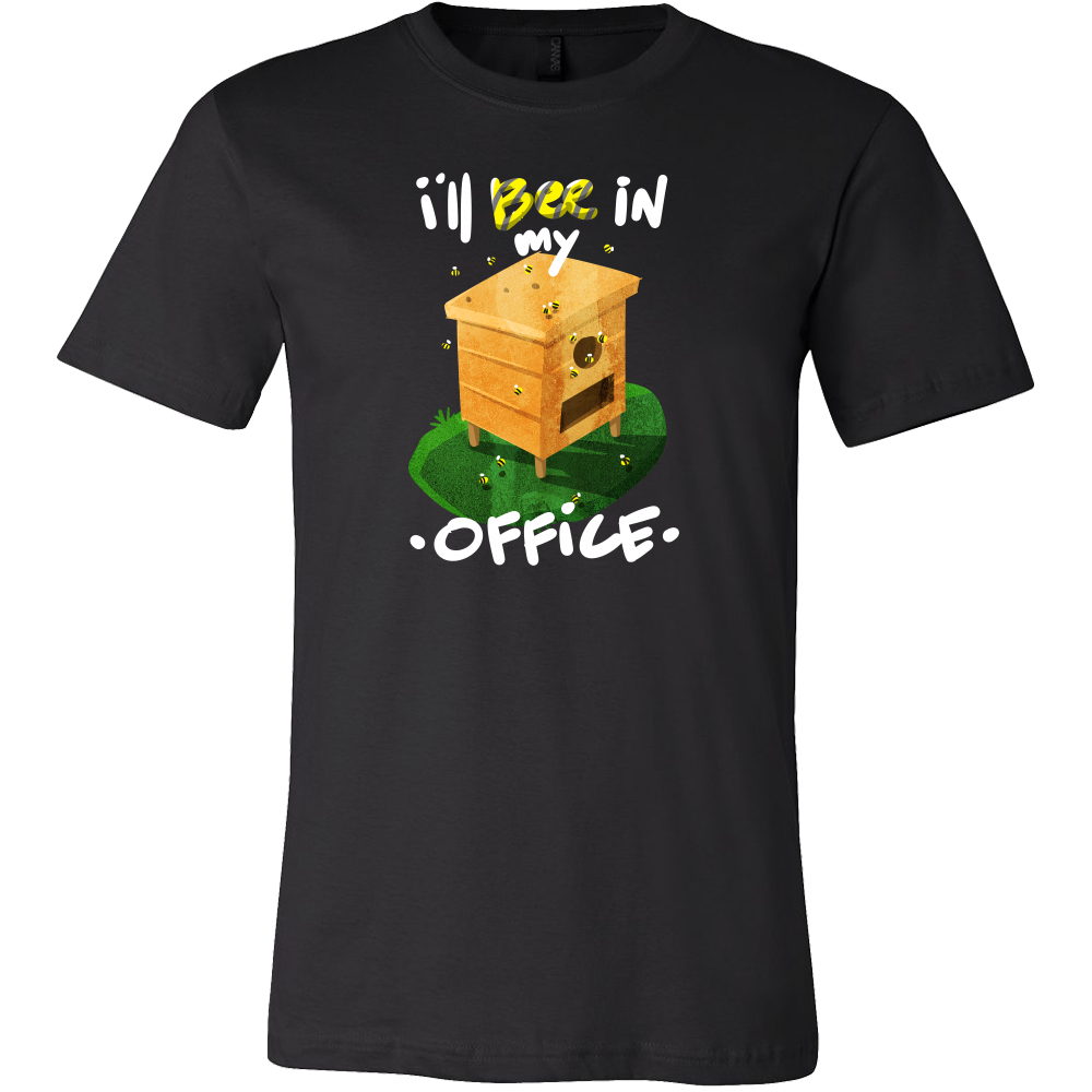 Beekeeper Bee Save The Bees Funny Bee In My Office T-Shirt