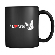 I Love French Bulldogs,Love Dogs,Animal and Pets Black 11oz mug