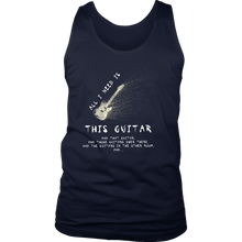 Guitar Musician Music Funny Band Men's tank